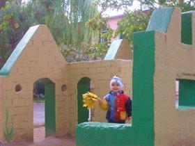 Я  в детском саду.Вот какой  Дворец у нас!