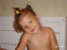 моя радость-дочурка Ксения
