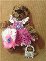 Медведь для подружкиной дочки