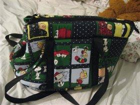 сумка переноска для маленькой собачки (1-3 кг)