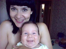 Наши с сыном улыбки