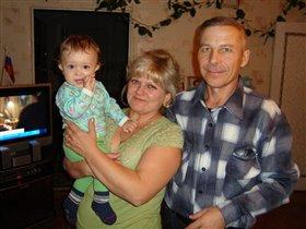 Я самый любимый внучек, а любимый,потому что ЕДИНСТВЕННЫЙ!!!