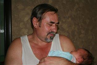 Долгожданная внучка