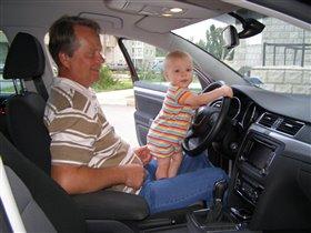 Деда, тебя подвезти?