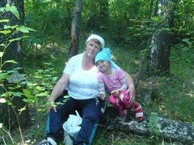 в лес по грибочки с бабушкой