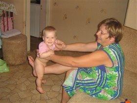 Кач-кач с бабой Наташей