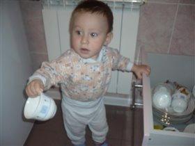 помощь маме в уборке