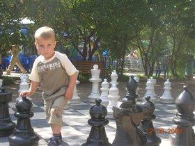 Шахматы с ходьбой всегда, тренировка для меня.