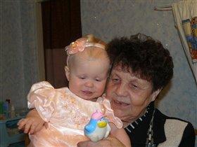 Мы с бабулей красотули!