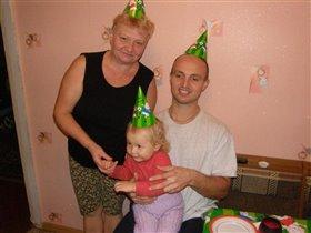 день рождения бабули