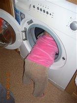 Мам, я проверила, все развесили сушить, там пусто!