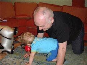 Догонялки с дедой
