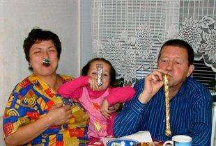 Бабушка, Дарьюшка, дедушка