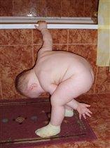 зарядка перед купанием в ванной!!!