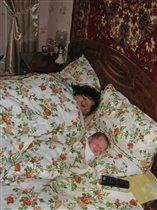 Спим с бабушкой!