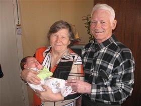 Я с прабабушкой и прадедушкой
