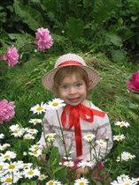 Ярославушка  девочка- ромашка