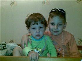 Мои детки (Егор и Настена)