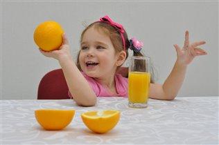 Ох! Какой апельсинчик!!