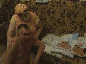 бабушка,дедушка и я