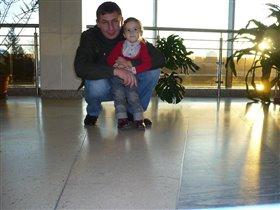 Кирюша с любимым дедушкой