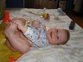 Ноги в руки:) Утренняя зарядка Ниолая