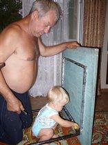 Помочь деду святое дело!