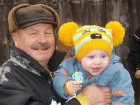 Вот такой у меня деда.с усами...