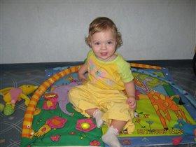 Анастасия 1 годик 3 месяца
