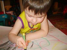 Писать пока я не умею-зато рисую только так!