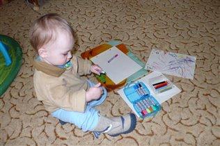 Хм, писать пока не умею, БУДЕМ РИСОВАТЬ!