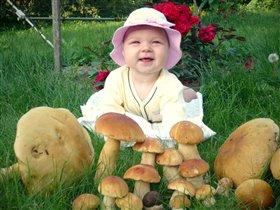 Здоровы грибы в лесу! Все равно переросту!
