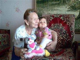 С прабабушкой