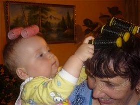 Бабуля, парочку бигудишек одолжи?