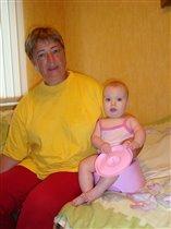 Бабулька-красотулька, Сашулька и розовый горшок