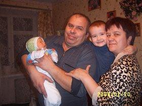 Один бабушкин, второй дедушкин!!!