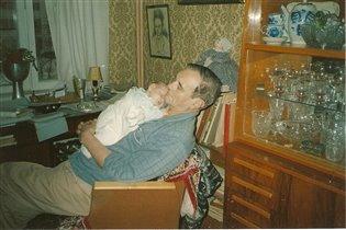Сладкий сон дедушки и внучки