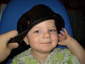 маленький милиционер.