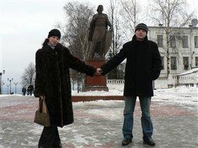 Ты, я, да мы с тобой....памятник А.Невскому.