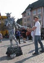 Живая скульптура  (Германия)