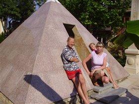 Мини пирамида в Кабардинке.