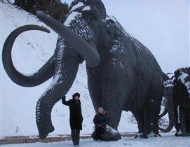 Археопарк г.Ханты-Мансийск 'Животные ледникового периода'