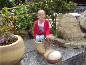 Вот такая я маленькая...или...башмачок большой :)