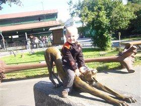 Рома в зоопарке
