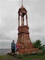 Старый маяк на Ладоге