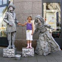 Скульптурная композиция на вольную тему