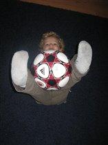 разминка с мячиком