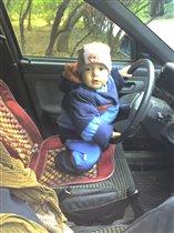 Гоша за рулем
