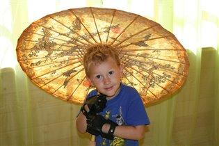 Масик под африканским зонтиком)