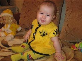 Я в желтом и ты в желтом,я твоя подружка-давай дружить!